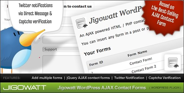 Ajax Contact Forms For WordPress