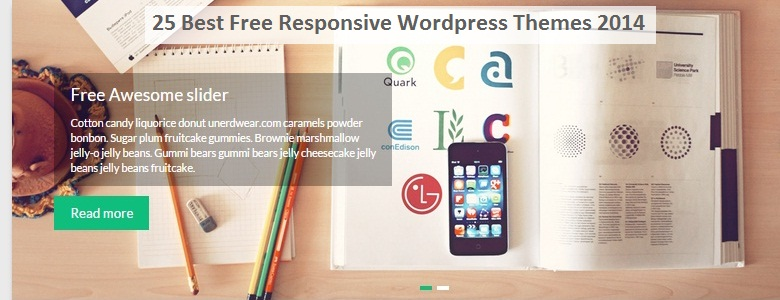 Best Free Responsive Wordpress Themes 2017