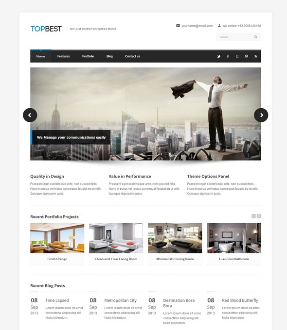TopBest WordPress Theme