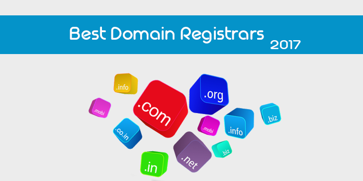Best Domain Name Registrars 2017