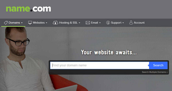 Name.com Best Domain Registrar