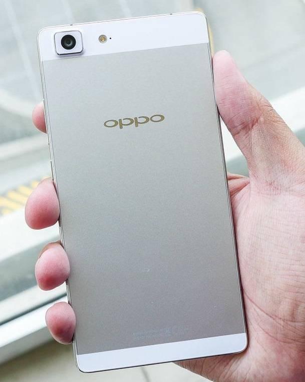 Oppo R5 Back