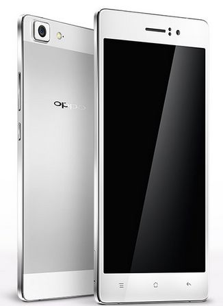 Oppo R5 Front and Back Side