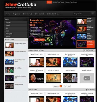 Johny Crottube for Blogspot