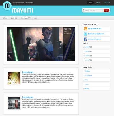 Mayumi for Blogspot