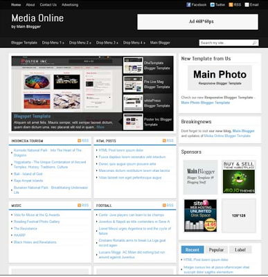 Media Online for Blogspot