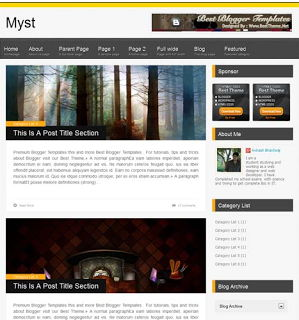 Myst for Blogspot