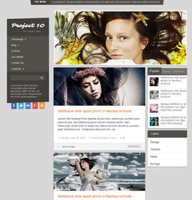 Project 10 for Blogspot