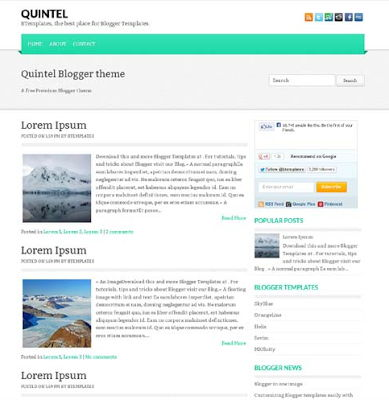 Quintel for Blogspot