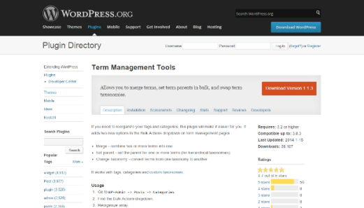 Term Management Tool