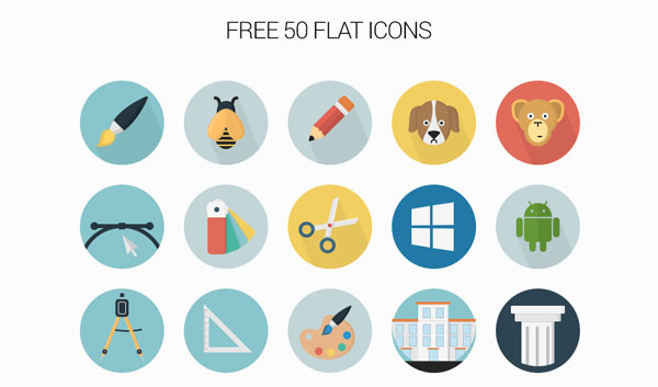 free-flat-icons-collection