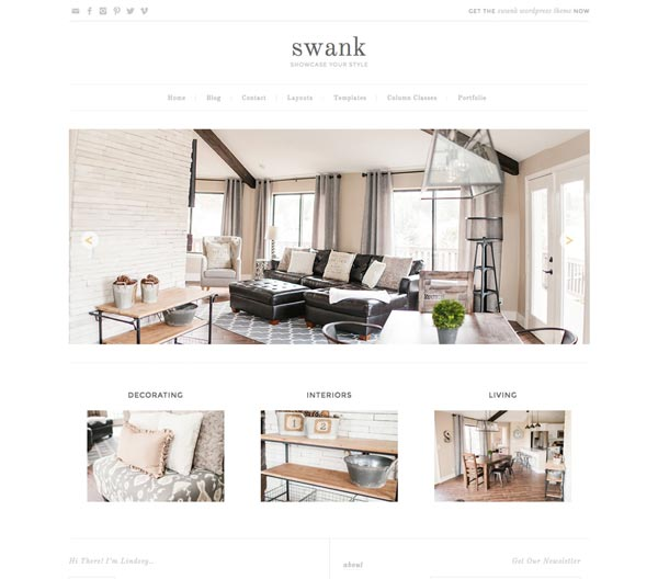 Swank - Premium Genesis Child Themes