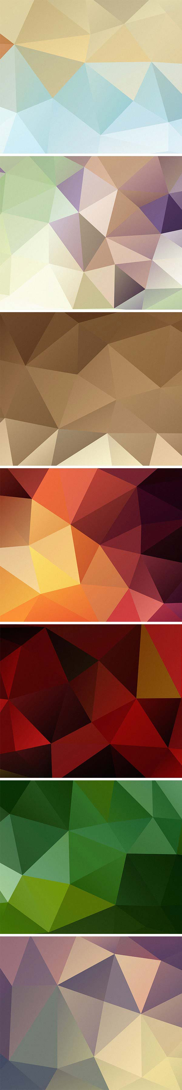 free high definition polygon backgrounds
