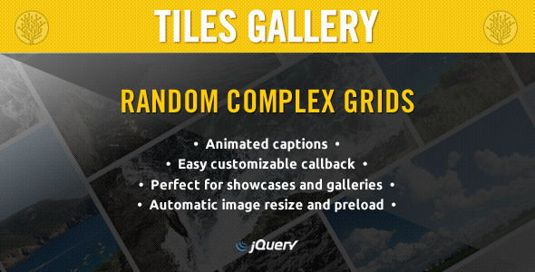 jQuery Tiles Gallery