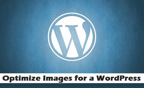 optimize images for wordpress website