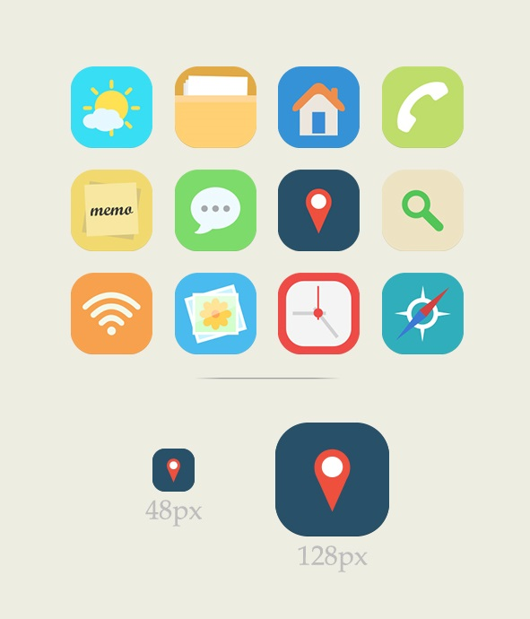 download-Free-Flat-Icons