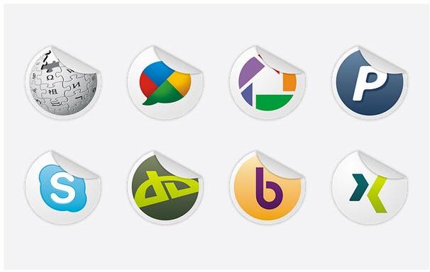 Free Social Icons Set 1