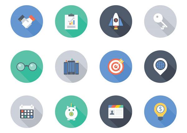 Long-Shadow-Free-Icons