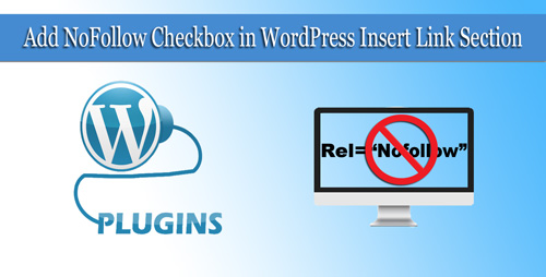 Add Nofollow CheckBox Wordpress