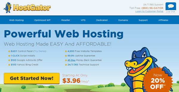 HostGator best affiliate marketing programs