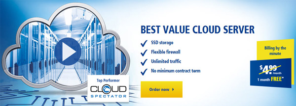 1and1 cheapest cloud server hosting
