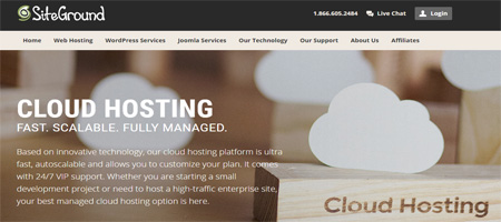 SiteGround Cloud Web Hosting