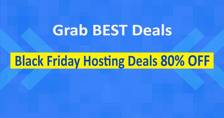 Black Friday Web Hosting Deals 2019