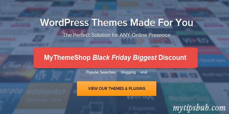 MyThemeShop Black Friday Deals Sale