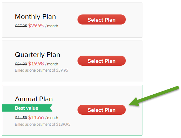 choose annual plan grammarly for students