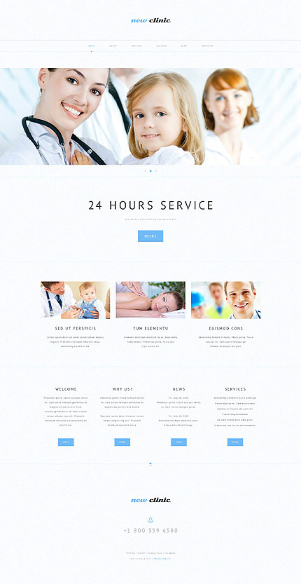 NewClinic WP Business Theme