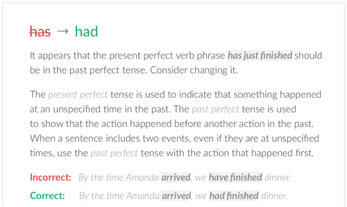 Grammar Checker - review of grammarly 2019