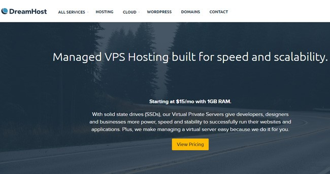 DreamHost Best VPS Hosting