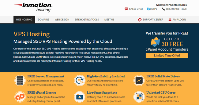 InMotion Hosting VPS