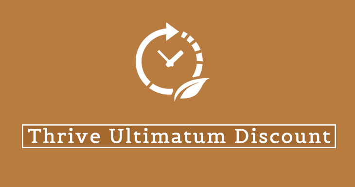 Thrive Ultimatum Discount 2019