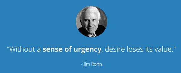Marketing Urgency
