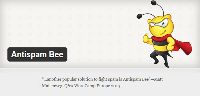 AntiSpam Bee WordPress Antispam Plugin