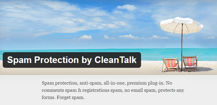 Spam Protection by Clean Talk