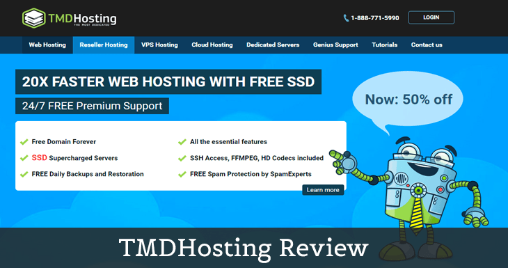 TMDHosting Review 2019