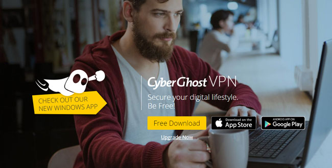 CyberGhost VPN for PC Free