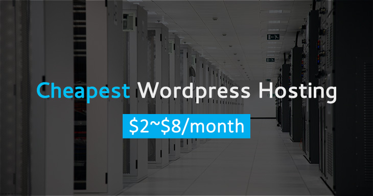 2019 cheapest wordpress hosting