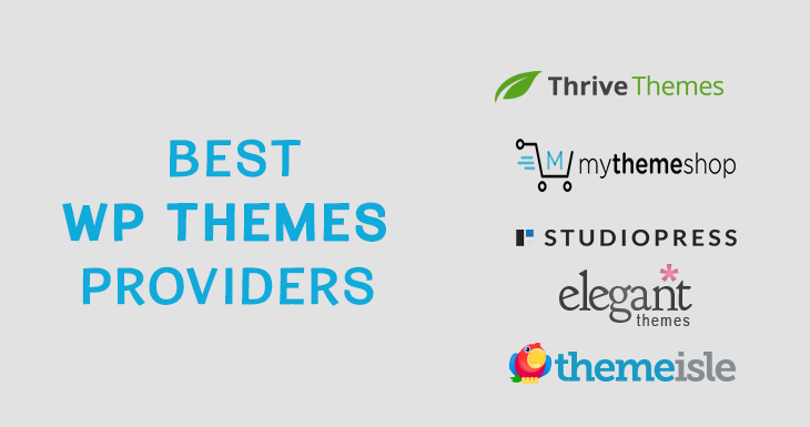 Best Premium WordPress Themes Providers