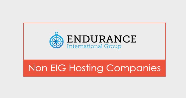 Non EIG Hosting Companies
