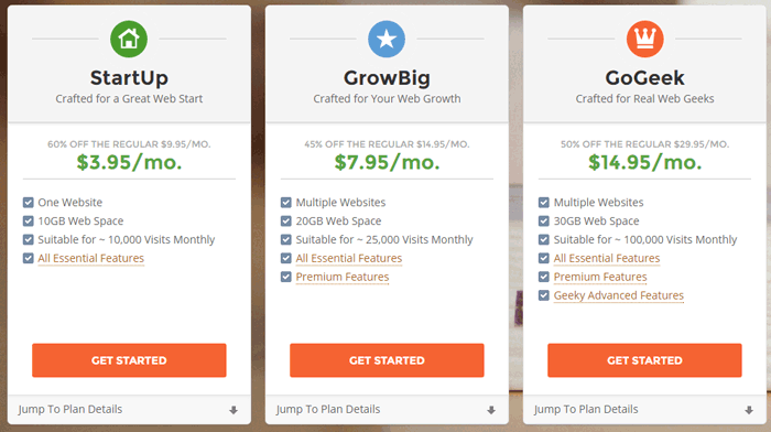 SiteGround Best Non EIG Hosting Plans