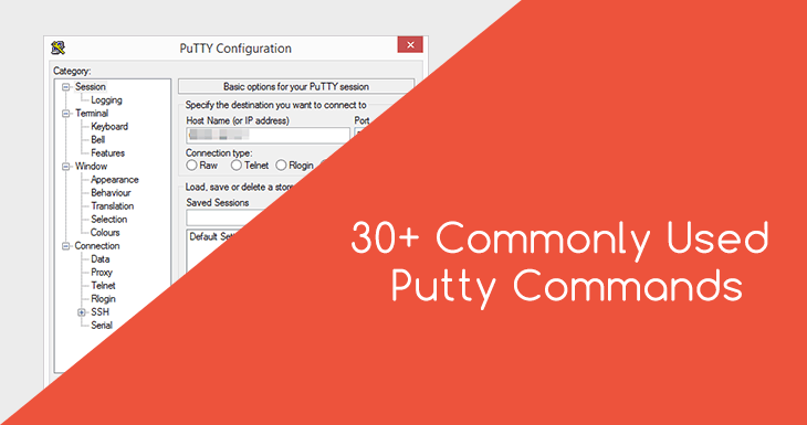 ssh putty commands