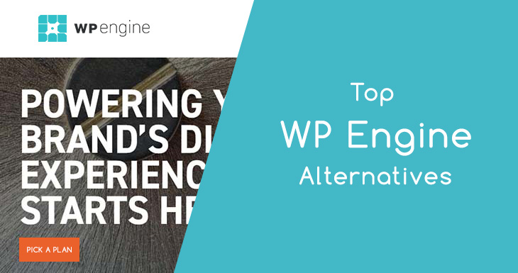 Top WPEngine Alternatives