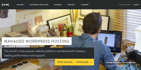 MediaTemple best managed wordpress hosting