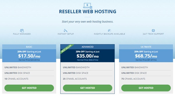 reseller details hostwinds review 2018