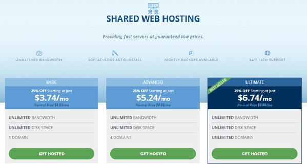 shared hosting review hostwinds cpanel