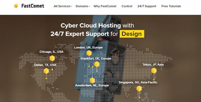 fastcomet best cpanel hosting 2018-2019