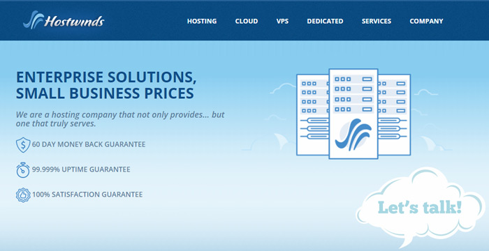 hostwinds cheap best cpanel hosting